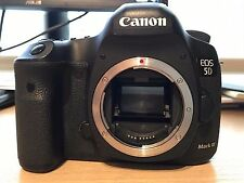 Canon EOS 5D Mark III 22.3MP Digital SLR Camera - Black (Body Only).