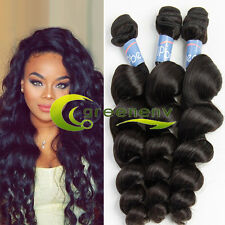 "3 Bundles 20"" 100% Real Virgin Brazilian Human Hair Loose Wave Hair Extension"