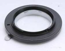 Exakta Lens To Olympus 3/4 Adapter For E510 E410 E500 E520 E330 E1 E620 E600