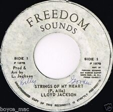 "freedom sounds 7"" : LLOYD JACKSON (Prince Allah)-strings of my heart  (hear)"