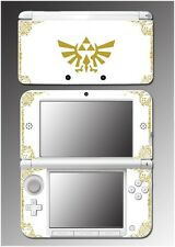 Legend of Zelda Link Hyrule Special Edition White Game Skin for Nintendo 3DS XL