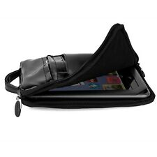 "Black Patent Leather Sleeve Bag Pouch For Samsung Galaxy Tab 4 7 7.0"" SM-T230NU"