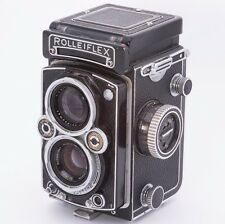 Rollei Rolleiflex 3.5E medium format TLR vintage camera. 2.8/75mm+3.5/75mm lens