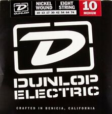 Dunlop DEN1074 Nickel 8-string Electric strings 10-74