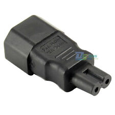 New Standard IEC 320 C14 Socket to IEC C7 Plug AC Power Adapter for LCD TV