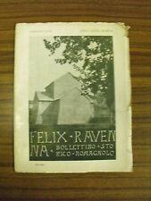 Felix Ravenna, fasc. XXVI - AA.VV. - Tip.Angelini (A26)