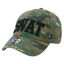 Camo Camouflage SWAT Special Weapons & Tactics Baseball Ball Cap Caps Hat Hats