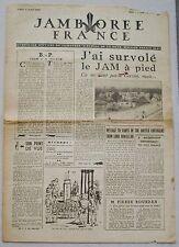 Jamborée France 6 - 21 Aout 1947 ; Journal N° 6 du 11 Août  Scouts P JOUBERT