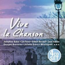Baker/becaud/sablon/brassens/greco/rossi/+: Vive La Chanson, CD