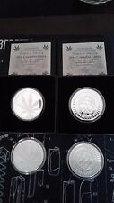 2016 1 oz CANNABIS CURES PROOF AND 1 OZ BU SILVER SHIELD  GROUP SSG 777