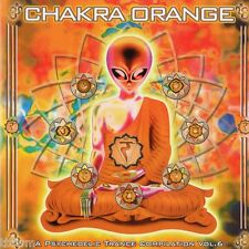 Chakra Orange A Psychedelic Trance Compilation Vol 6 - CD - GOA TRANCE TBFWM