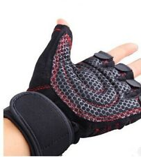 Weight Lifting Gym Fitness Body Building Padded Sports Exercise Gloves Training