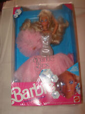 MATTEL BARBIE SPARKLE EYES  1991 Never Removed From Box