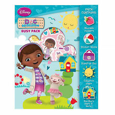 Children's Activity BUSY PACK Disney Doc McStuffins Christmas stocking Filler