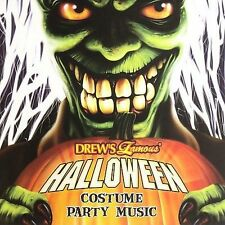 Turn Up The Music Inc. 35749 Halloween Costume Party Music CD - plastic