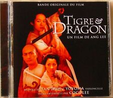 TAN DUN (CD)  TIGRE & DRAGON BOF OST   YOYOMA   COCOLEE  ANG LEE