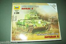 ZVESDA INFANTRY TANK MATILDA 1:100 scale  kit