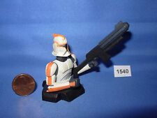 "Star Wars 2007 GENTLE GIANT BUST-UP Orange Clone Trooper TRU Excl. 3.75"" Figure"