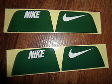 Nike Visionshield Visor for GREEN Football Helmet Licensed Decals (2) Sets