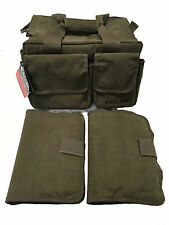 New Allen Select Canvas Range Bag 2304 - Two Pistol Rugs - Olive Green