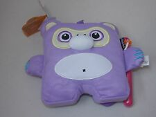 Inkoos Mini Plush Purple Monkey Stuffed Animal With Marker Draw