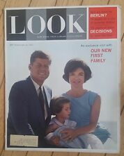 LOOK MAGAZINE FEBRUARY 28 1961 NEW FIRST FAMILY FIGHT FOR BERLIN DECISIONS