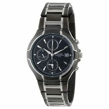 Pulsar Men's PF3547 Chronograph Japanese Quartz Black Stainless Steel Watch