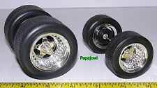 Muscle Machines 1:18 Wheels & Tires ONLY PARTS For Model Car Customizer Builder