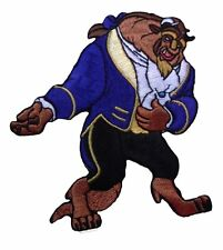 """Disney's Beauty and The Beast The  Beast 4"""" Tall Embroidered Patch"""