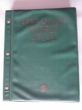Pergamon World Atlas 1968 Produced by the Polish Army Topographical Service