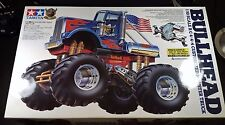 Tamiya Bullhead 1/10 Monster Truck kit Dual Motor New 58535 Clodbuster