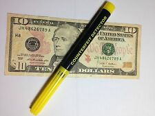 COUNTERFEIT MONEY DETECTOR PEN Security *Free shipping US Dollars Euros Canadian
