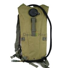 Nylon 3.0L Military Molle Outdoor Backpack Water Bag Pack with Hydration Bladder