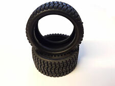 COPPIA GOMME TYRE KYOSHO 92685 RALLY TIRE PURE TEN SPIDER ALPHA FAZER TF3 TF2