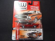 Auto World Dodge Challenger TA 1970 1/64 CHASE ULTRA RED 64032B