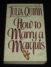 msm* JULIA QUINN ~ HOW TO MARRY A MARQUIS