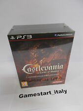 CASTLEVANIA LORDS OF SHADOW LIMITED COLLECTOR'S EDITION + T-SHIRT - PS3 NUOVO