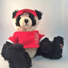 "Olympics Beijing Bear Hudson's Bay 2008 Canada 12"" Collectible Panda"