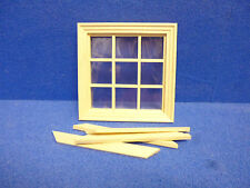 Dolls House Windows  DIY  9 LT WINDOW   cv124