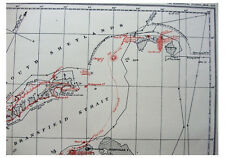 1925 Antarctic First Sighting - BRANSFIELD DISCOVERIES - MAPPING GRAHAM LAND - 3