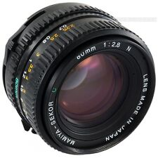 Used Mamiya-Sekor C 80mm f2.8 N for Mamiya 645 SUPER 645 PRO & PRO TL M645 1000s