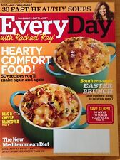 Every Day With Rachael Ray Magazine Apr 2014 Healthy Soups Easter Brunch