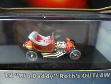 2002 HOT WHEELS 100% 1:64 ED BIG DADDY ROTHS OUTLAW Red RR Diecast Car