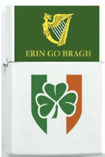 Irish Erin Clan Ireland Clover Flag Family Reunion Emerald Isle Symbol Lighter