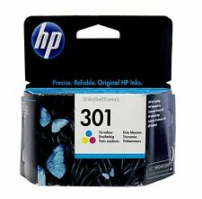 HP 301 Tri-Color Ink Cartridge Europe CH562EE Old Gen Genuine Sealed