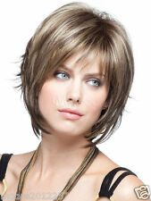 Fashion wig New sexy Women's short Brown Blonde Natural Hair wigs