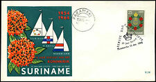 Suriname 1964 Statute Of The Kingdom FDC First Day Cover #C35499
