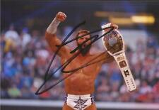 WWE WRESTLING: ZACK RYDER SIGNED 6x4 ACTION PHOTO+COA **PROOF**