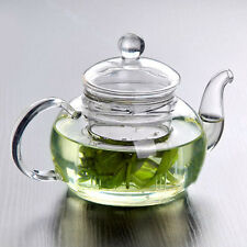 Practical Resistant Cup Glass Teapot Infuser Coffee Tea Leaf Coffee 350ML Aa