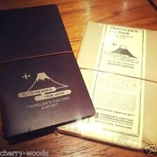 Midori Traveler's Note book AIRPORT Edition Leather Cover Narita limited Travel